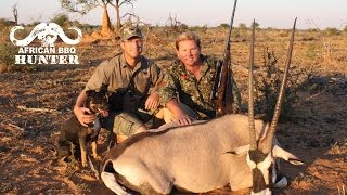 African BBQ Hunter - oryx hunting in Namibia