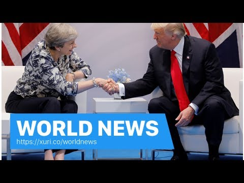 World News – Donald Trump think that terrorists control parts of the UK, so Theresa chance to repai