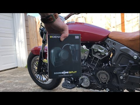 Indian Scout - Louder Horn Installation!