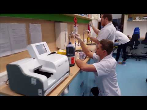 Tartu Tervishoiu Kõrgkooli bioanalüütikute mannekeeni väljakutse