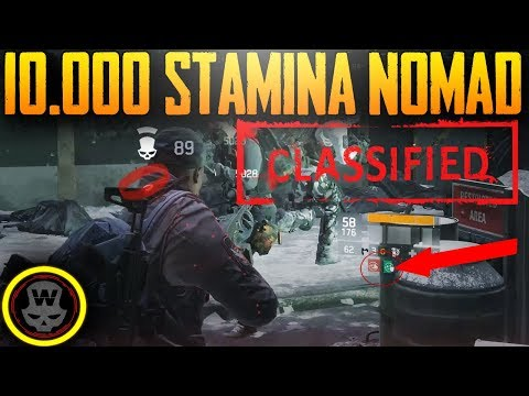 10.000 STAMINA SOLO CLASSIFIED NOMAD DZ (The Division 1.8 PTS 1)