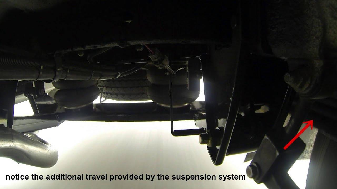 Kelderman Sprinter 3500 Chassis 2-Stage Rear Air Suspension Demo