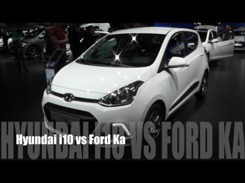 Hyundai I  Vs Ford Ka