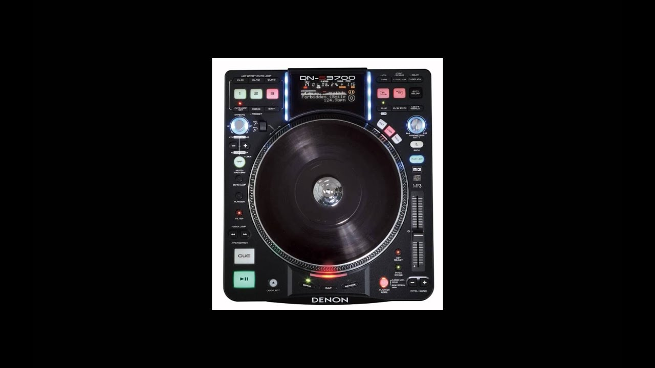 Denon DJ DN-S3700 - Hybrid MIDI Mode