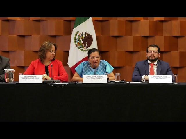 Discurso de la Presidenta de la CDHCM, en lanzamiento de Alianza Global del Ombudsperson