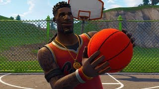 A DUPLA DOS JOGADORES DE BASQUETE! SKIN DO LEBRON JAMES! (Fortnite Battle Royale Live)