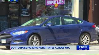 DOT to raise parking meter rates across NYC