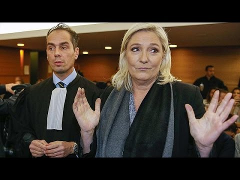 Marine Le Pen appears in French court on charge of inciting racial hatred