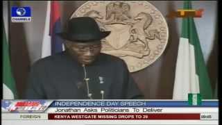 President Jonathan's Speech At Nigeria's 53rd Independence