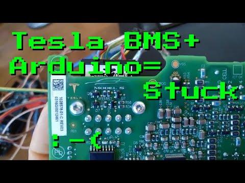 Tesla BMS #1 -Arduino Not Talking