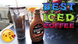 The Best Way To Make Iced Coffee - EASY