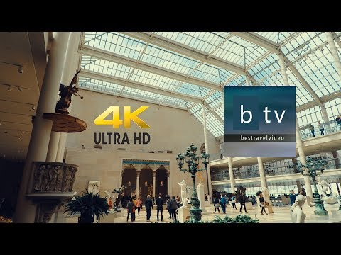 The Metropolitan Museum of Art New York: A walk inside in 4K - UHD.