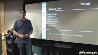 البرنامج التعليمي: AV المتلقي & مكبر للصوت إعداد
