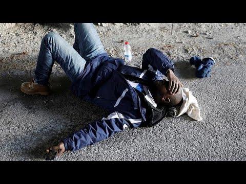 Cada vez mais migrantes tentam atravessar os Alpes com temperaturas negativas