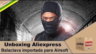 Unboxing Aliexpress - Balaclava de Proteção