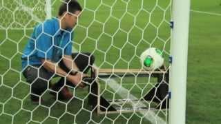 Fussball WM 2014 - Torlinientechnik funktioniert !
