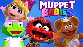 Muppet Babies Mini Arcade Games - All Characters Summer Arcade Disney Junior App For Kids
