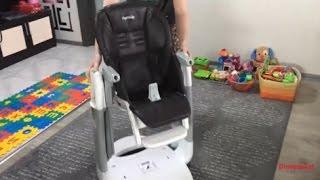 Peg Perego Tatamia детский стульчик 3 в 1 обзор стул, качели и шезлонг