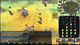 72 VS Deadly Assassins war - Runescape