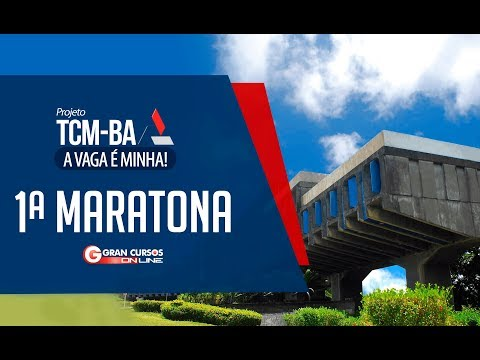 Concurso TCM-BA | 1ª Maratona