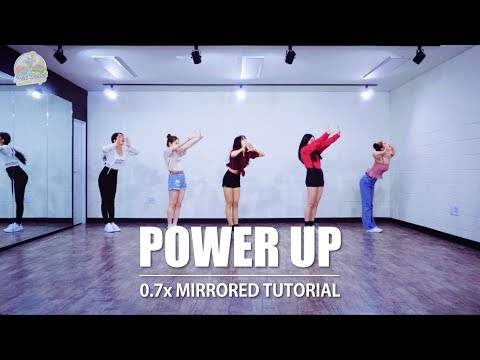 [TUTORIAL] Red Velvet 레드벨벳  'Power Up(파워업)' | 커버댄스 DANCE COVER | 0.7x SPEED MIRRORED