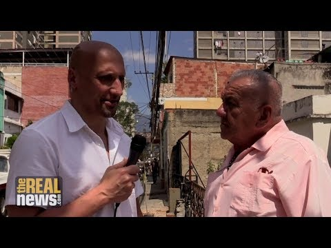 TRNN Visits a Working Class Neighbourhood in Caracas