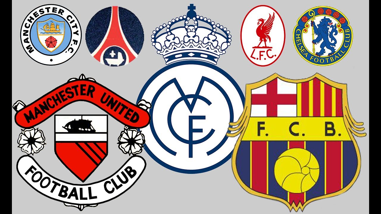 The historyevolution of major football badges then and now youtube the historyevolution of major football badges then and now biocorpaavc Choice Image
