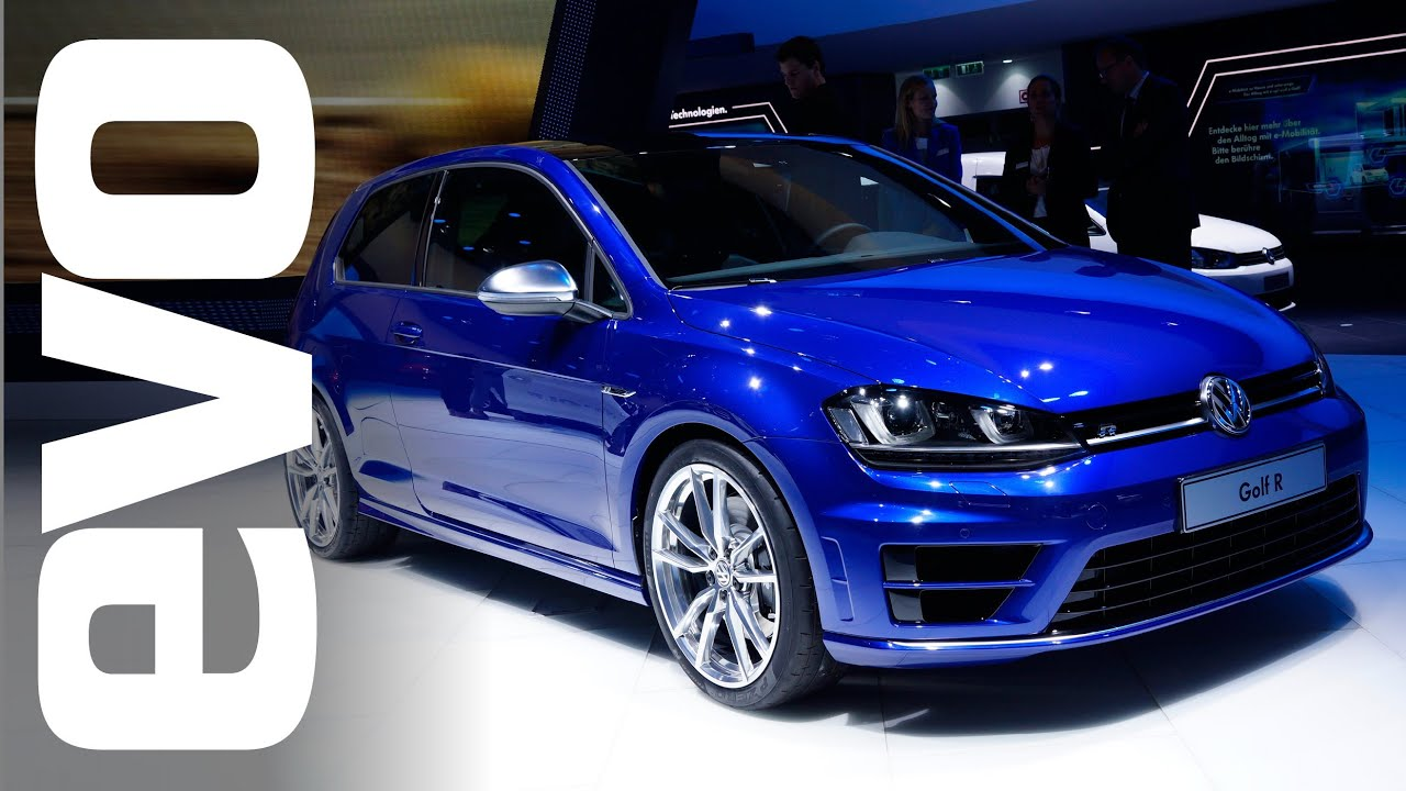 vw golf r mk7 frankfurt 2013 evo motor shows youtube. Black Bedroom Furniture Sets. Home Design Ideas