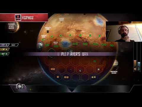 Terraforming Mars - Gameplay Vid #1 (Tharsis Republic) - Cardboard From Mars