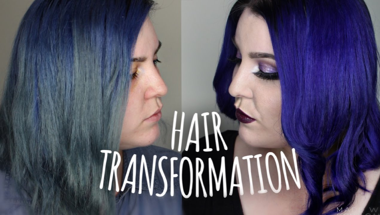 Pastel Purple And Blue Medium Hair Idea