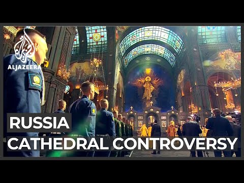 Russian church launches cathedral dedicated to armed forces