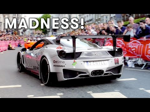 Modball Rally 2017 London supercar MADNESS!