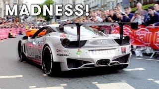 Supercars on the streets - Just like last year I filmed all the Mod...