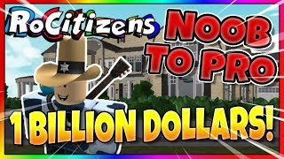 RoCitizens SPENDING 1 BILLION Cash! NOOB to PRO