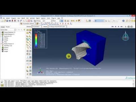 ABAQUS drilling tutorial: Basic tutorial of Drilling  simulation in Abaqus 6.13. You need to have a 3D model of drill bit before starting