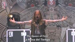 Amorphis - The Golden Elk (Lyrics / Sub Español) [Live at Hell Fest 2018]