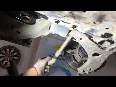 Форд фокус 2 снятие рулевой рейки