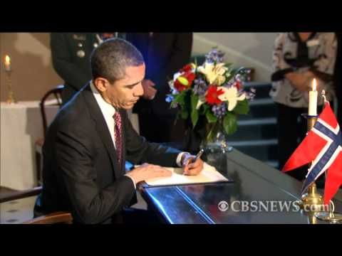 Obama & Biden pay respects to Oslo terror victims