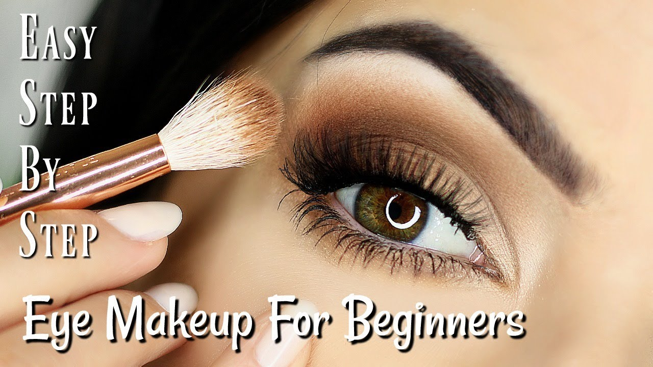 Beginner Eye Makeup Tips & Tricks  STEP BY STEP EYE MAKEUP FOR ALL EYES