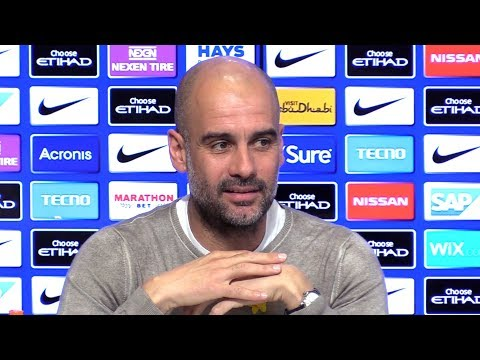 Pep Guardiola Embargoed Pre-Match Press Conference - Manchester City v Watford - Premier League