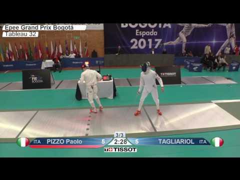 FE M E Individual Bogota COL Grand Prix 2017 T32 07 green PIZZO ITA vs TAGLIARIOL ITA