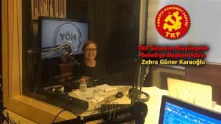 Gambar cover TKP İstanbul Büyükşehir Belediye Başkan Adayı Zehra Güner Karaoğlu Yön Radyo'daydı