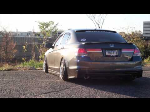 Honda Accord Sport >> 8th Gen Accord Bagged !!! - YouTube
