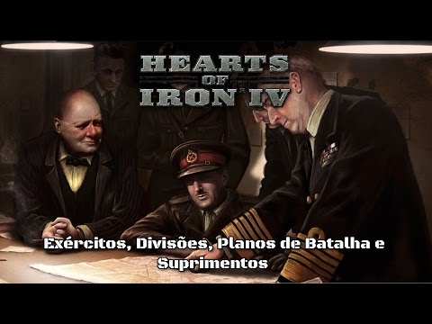 Hearts Of Iron IV: Tutorial Intermediário: Exércitos