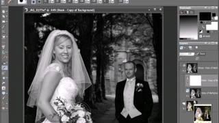 Как сделать свадебную фотографию красивее