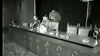 مقطع نادر لصدام حسين وهو يقوم بطرد اعضاء من حزب البعث Saddam Hussein