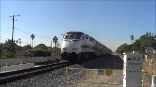 Railfanning during metrolink rush hour 11/11/2013
