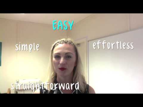 What are Synonyms? Video explanation & pronunciation