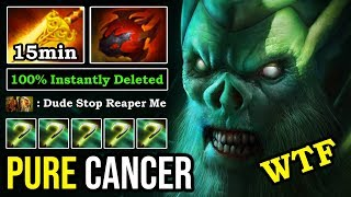 CANCER MID NECROPHOS IS BACK First Item 15Min Radiance Crazy AOE Damage 100% Instantly Deleted ALL