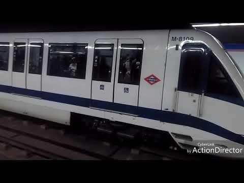 Metro de Madrid: Colombia L8 y L9